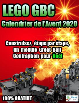 Calendrier de l'Avent LEGO GBC 2020 | Votre Calendrier de l'Avent LEGO Great Ball Contraption sur Planet GBC