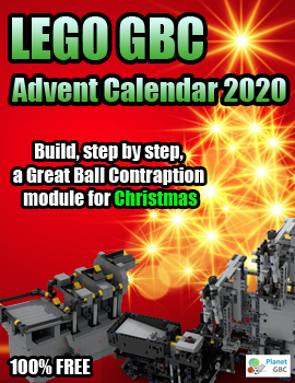 LEGO GBC Advent Calendar 2020 | Your LEGO Great Ball Contraption Advent Calendar on Planet GBC