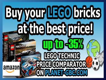 LEGO GBC - LEGO Technic at the best price on Planet GBC