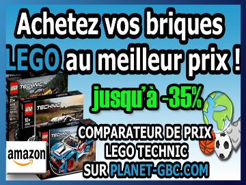 Great Ball Contraption - Vos LEGO Technic au meilleur prix sur Planet GBC