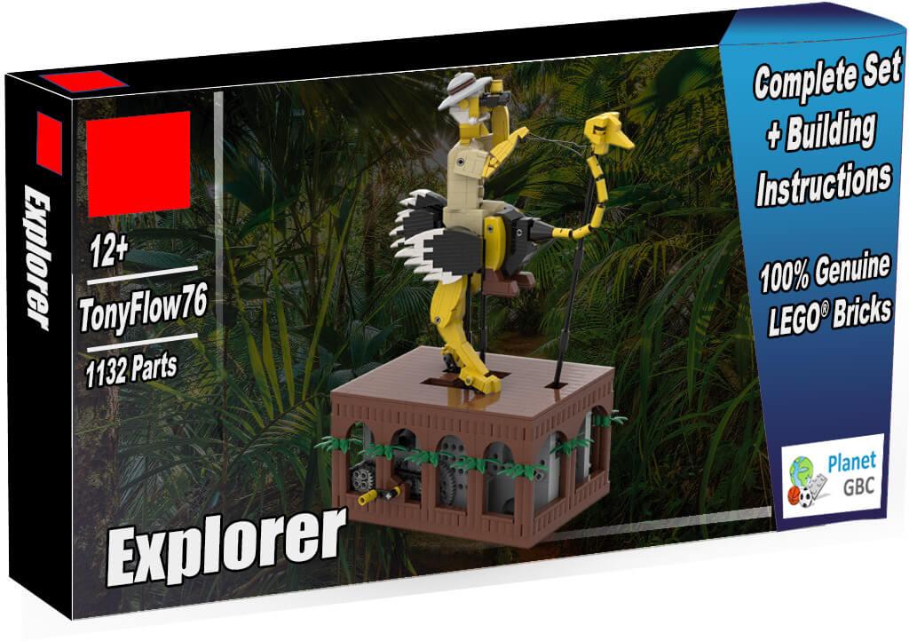 Buy this LEGO Automaton as a set with 100% genuine LEGO bricks | Explorer from TonyFlow76 | Planet GBC | Build a MOC