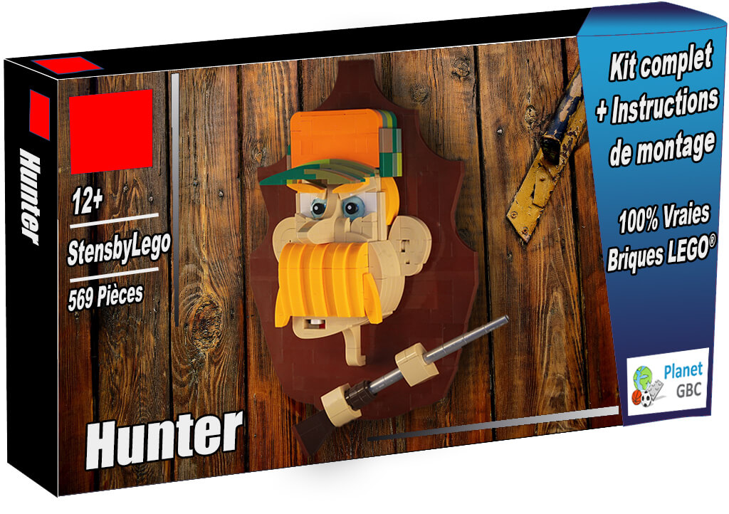 Buy this LEGO MOC as a set with 100% genuine LEGO bricks | Hunter from StensbyLego | Planet GBC | Build a MOC