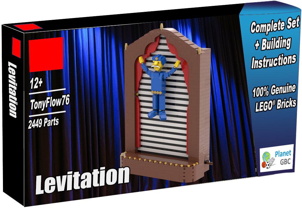 Buy this LEGO Automaton as a set with 100% genuine LEGO bricks | Levitation from TonyFlow76 | Planet GBC | Build a MOC