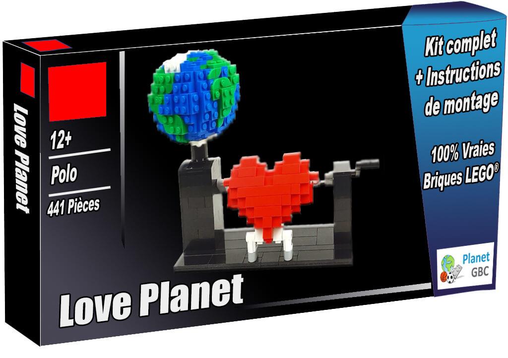 Acheter cet automate LEGO en boite avec 100% de vraies briques LEGO | Love Planet de Polo| Planet GBC | Build a MOC