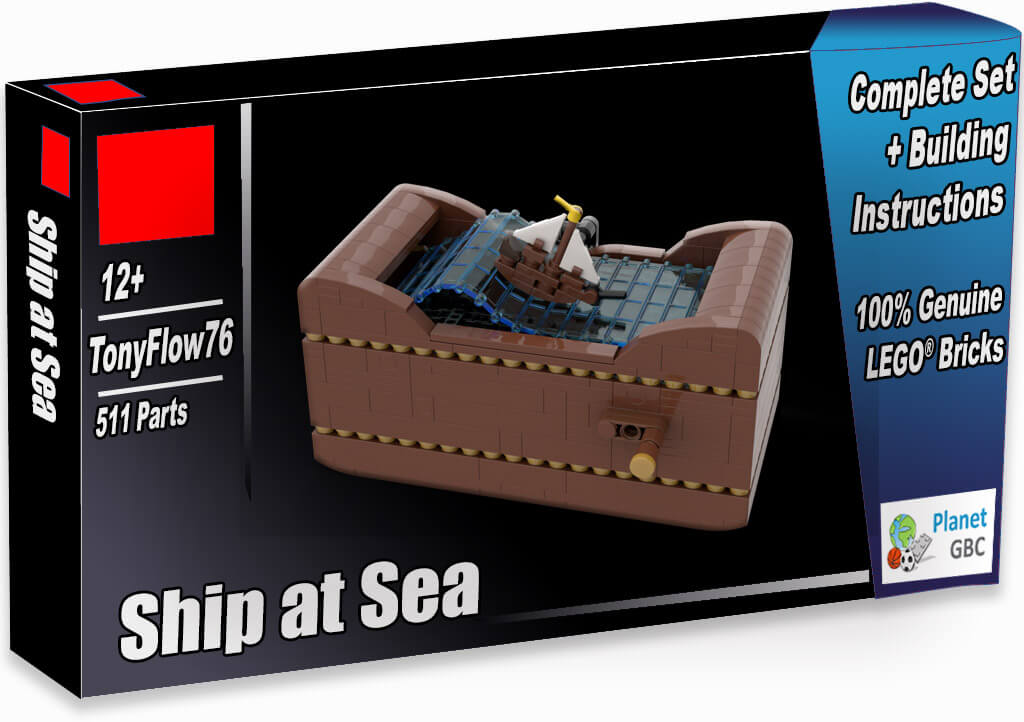 Buy this LEGO Automaton as a set with 100% genuine LEGO bricks   Ship at Sea from TonyFlow76   Planet GBC   Build a MOC