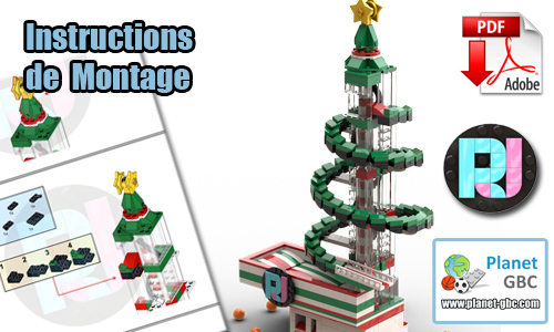 Acheter les instructions de montage pdf lego gbc sur PayPal | Christmas Tree GBC de RJ BrickBuilds | Planet GBC