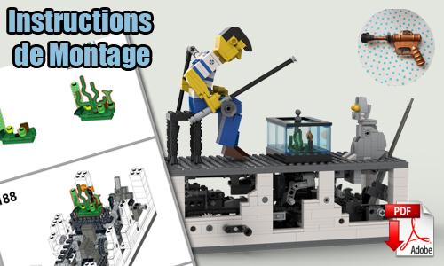 Acheter les instructions de montage pdf automate lego sur PayPal | Fisherman de TonyFlow76 | Planet GBC