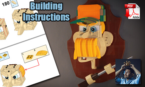 Buy NOW this MOC pdf instructions on PayPal | Hunter from StensbyLego | Planet GBC