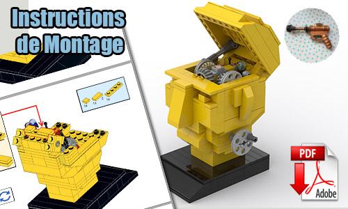 Acheter les instructions de montage pdf Automate LEGO sur PayPal | Inspiration de TonyFlow76 | Planet GBC