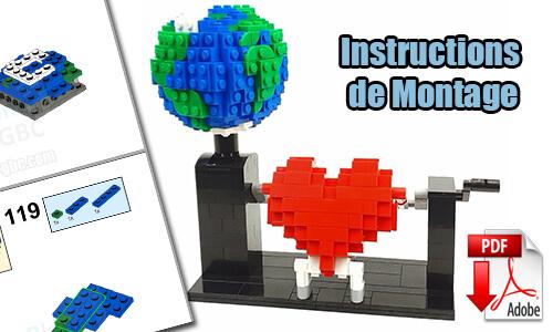 Acheter les instructions de montage pdf Automate LEGO sur PayPal | Love Planet de turbopolofr | Planet GBC