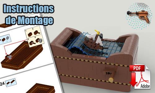 Acheter les instructions de montage pdf Automate LEGO sur PayPal   Ship at Sea de TonyFlow76   Planet GBC