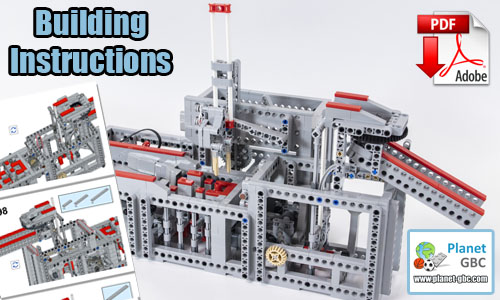 Buy NOW lego gbc pdf instructions on PayPal | Stamp from Takanori Hashimoto | Planet GBC