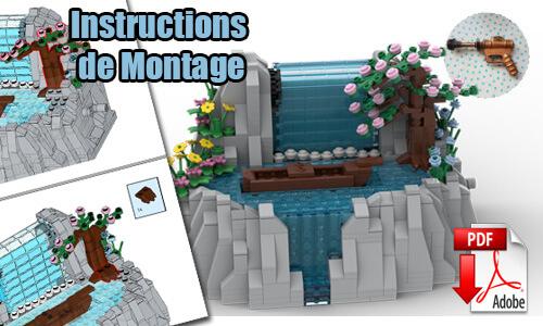 Acheter les instructions de montage pdf Automate LEGO sur PayPal | Waterfall de TonyFlow76 | Planet GBC