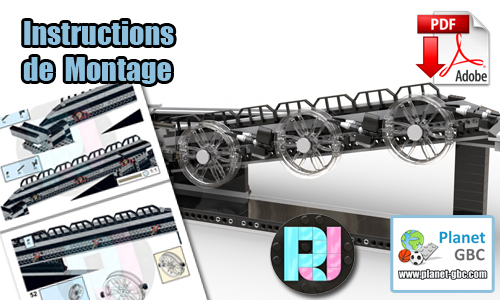 Acheter les instructions de montage pdf lego gbc sur PayPal | Wheely Wonka de RJ BrickBuilds | Planet GBC