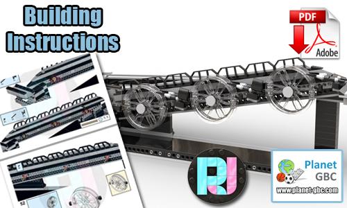 Buy NOW lego gbc pdf instructions on PayPal | Wheely Wonka from RJ BrickBuilds | Planet GBC