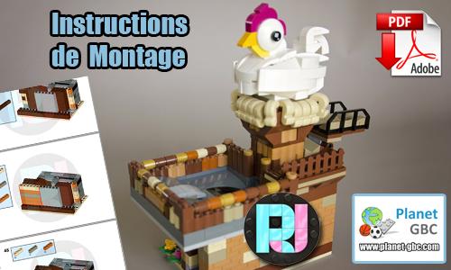 Acheter les instructions de montage pdf lego gbc sur PayPal | Freakin Chicken de RJ BrickBuilds | Planet GBC