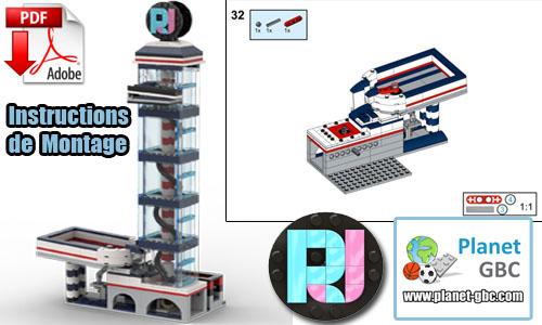 Acheter les instructions de montage pdf lego gbc sur PayPal | RJ Tower V1 de RJ BrickBuilds | Planet GBC