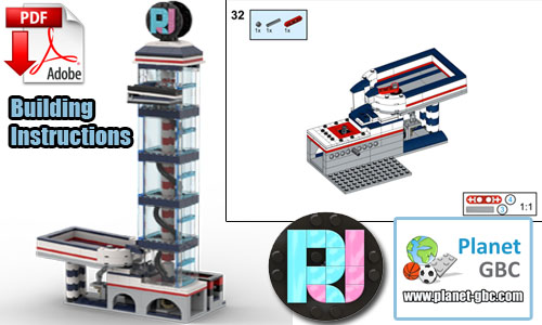 Buy NOW lego gbc pdf instructions on PayPal | RJ Tower V1 from RJ BrickBuilds | Planet GBC