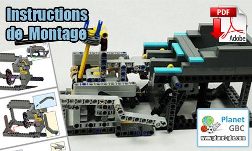 Acheter les instructions de montage pdf lego gbc sur PayPal | Two Turning Arms de LegoMarbleRun | Planet GBC