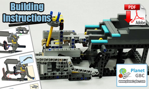 Buy NOW lego gbc pdf instructions on PayPal | Two Turning Arms from LegoMarbleRun | Planet GBC