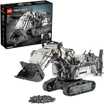 Build the LEGO Great Ball Contraption module GBC 45 Stunt Circus from PV-Productions with parts from the LEGO Technic Set 42100 - Liebherr R9800 Excavator | The best LEGO deals are on Planet GBC