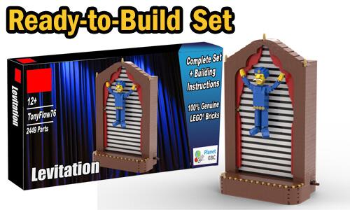 Buy NOW this LEGO Automaton as LEGO Set, with 100% genuine LEGO bricks, on BuildaMOC website | Levitation from TonyFlow76 | Planet GBC