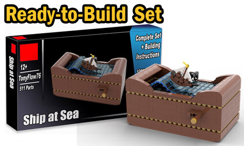 Buy NOW this Automaton as LEGO Set, with 100% genuine LEGO bricks, on BuildaMOC website | Ship at Sea from TonyFlow76 | Planet GBC