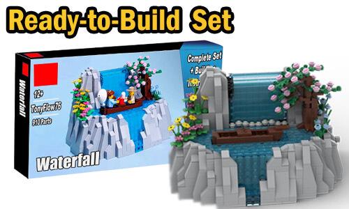 Buy NOW this Automaton as LEGO Set, with 100% genuine LEGO bricks, on BuildaMOC website | Waterfall from TonyFlow76 | Planet GBC