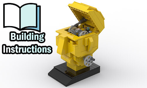 Buy NOW pdf building instructions on PayPal for this LEGO Automaton | Inspiration from TonyFlow76 | Planet GBC