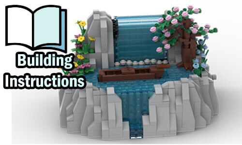 Buy NOW pdf building instructions on PayPal for this LEGO Automaton   Waterfall from TonyFlow76   Planet GBC