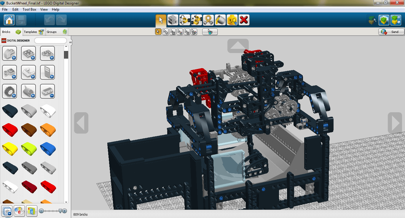 Lego® Digital Designer