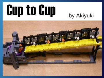 Great Ball Contraption - Cup to Cup on Planet GBC