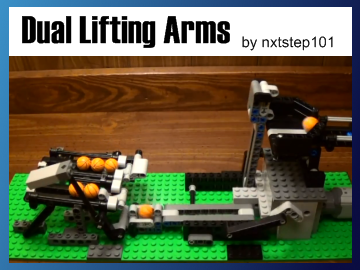 Great Ball Contraption - Dual Lifting Arms on Planet GBC