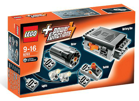 '8293-LEGO® Power Functions Motor Set' is perfect to acquire your first motor