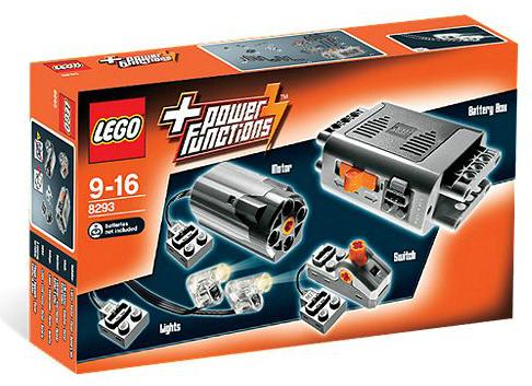Le kit '8293-LEGO® Power Functions Motor Set' est parfait pour acquérir votre premier moteur