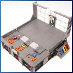 LEGO GBC Module: Basket Shooter from Akiyuki - LEGO Great Ball Contraption - Planet-GBC