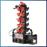 LEGO GBC Module: Bucket Wheel Tower from Akiyuki - LEGO Great Ball Contraption - Planet-GBC