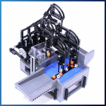 LEGO GBC Module: Catch and Release from Akiyuki - LEGO Great Ball Contraption - Planet-GBC