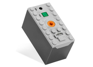'8878-LEGO® Power Functions Rechargeable Battery Box' is useful if you are looking for constant power supply