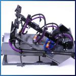 LEGO GBC Module: Archimedes Screw type 3 from Akiyuki - LEGO Great Ball Contraption - Planet-GBC