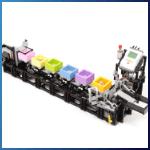 LEGO GBC Module: Container Transporter from Akiyuki - LEGO Great Ball Contraption - Planet-GBC