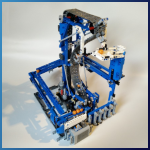 LEGO GBC Module: Inverse Belt Lift from PV-Productions - LEGO Great Ball Contraption - Planet-GBC