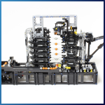 LEGO GBC Module: Invisible Lift from Akiyuki - LEGO Great Ball Contraption - Planet-GBC