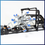 LEGO GBC Module: Tilted Rotors from Akiyuki - LEGO Great Ball Contraption - Planet-GBC
