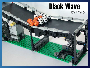 Great Ball Contraption - Black Wave on Planet GBC