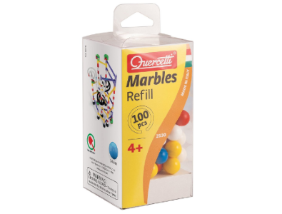 'Quercetti Marbles Refill 100 pieces' are the best cheap alternative to genuine GBC balls