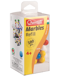 Quercetti Marbles Refill 100 pieces