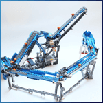 GBC Module: Extended Belt Lift from PV-Productions - LEGO Great Ball Contraption - Planet-GBC
