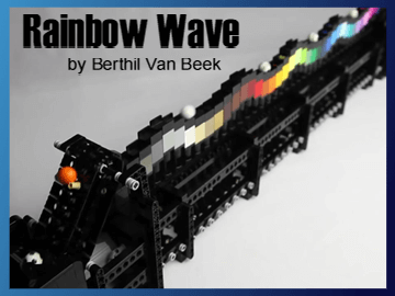 Great Ball Contraption - Rainbow Wave sur Planet GBC