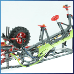 GBC Module: Strandbeest from PV-Productions - LEGO Great Ball Contraption - Planet-GBC
